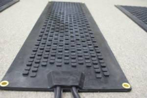 Photo of one heated mat