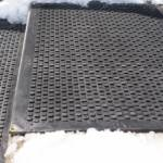 Heated mats in snow picture - KEMF Life Simplified Inc.