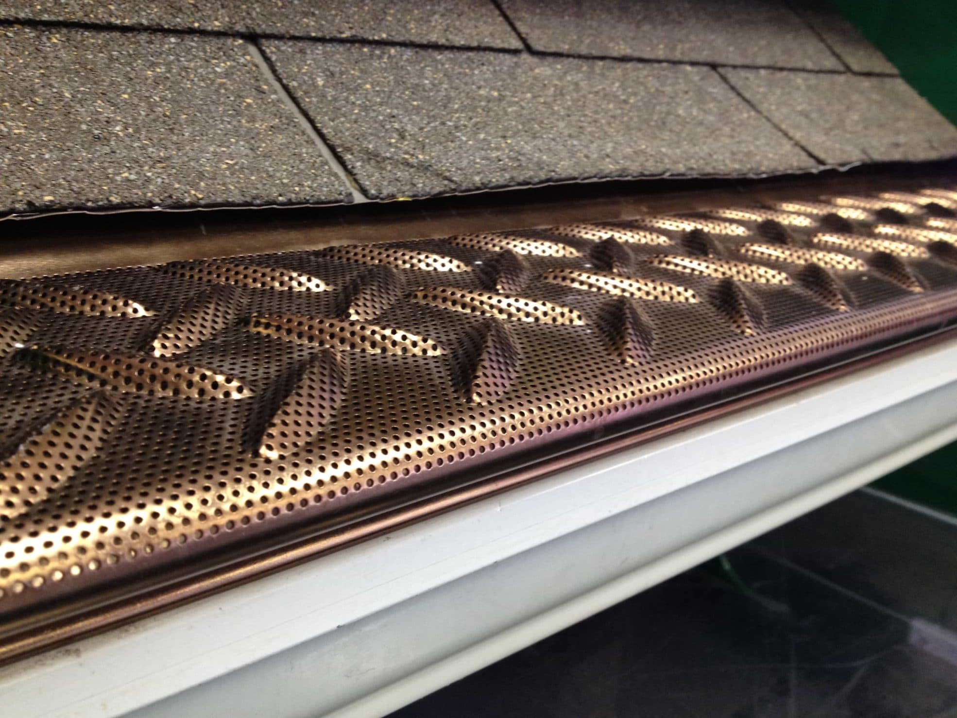 Tek-Mesh Guard protector for Gutters